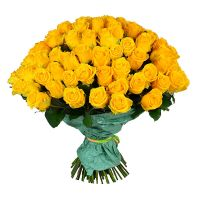 Bouquet 101 yellow roses