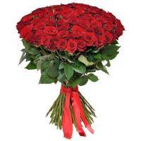 Букет 101 червона троянда Кенія Київ