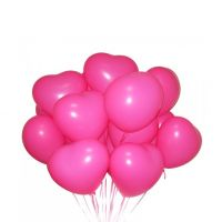 Заказать 15 гелиевых шариков «Сердце» в интернет магазине