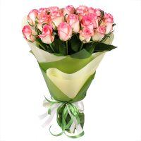 Букет 25 рожевих троянд Київ