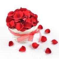 Букет Лепестки красных роз