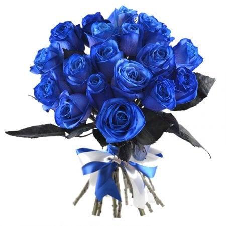 Голубые розы купить киев купить искусственные полевые цветы в интернет магазине