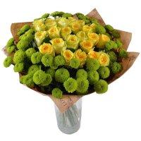 Букет Летняя рапсодия + ваза в подарок