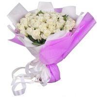 Букет 51 белая роза Киев