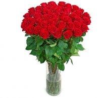 Букет Букет «Роскошный» (51 роза, 1 метр)