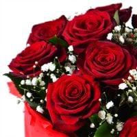 Букет Розы в снегу