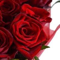 Букет 25 роз Пламя чувств!