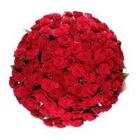 Букет Обольщение 101 роза