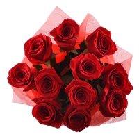 Букет 11 премиум роз