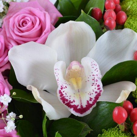 Букет Цветочное сердце
