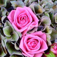 Букет Розово-зеленый