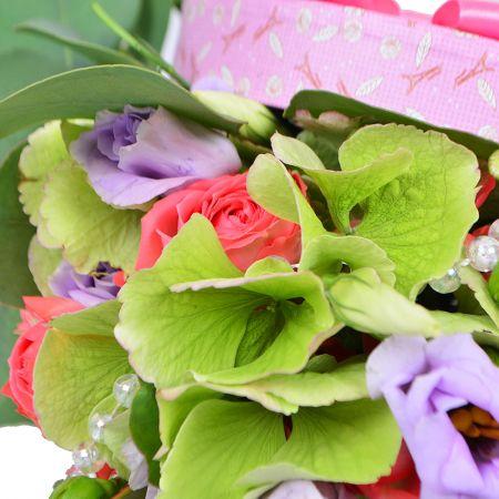 Букет Цветочная шкатулка