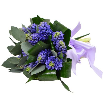 Букет Bouquet with hyacinths