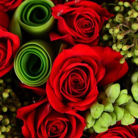 Букет Эксклюзивное сердце из роз