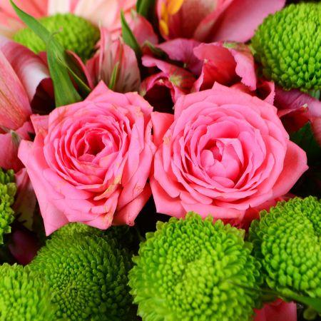 Букет Розовый букет любви
