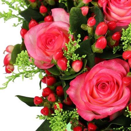 Букет Цветы в коробке