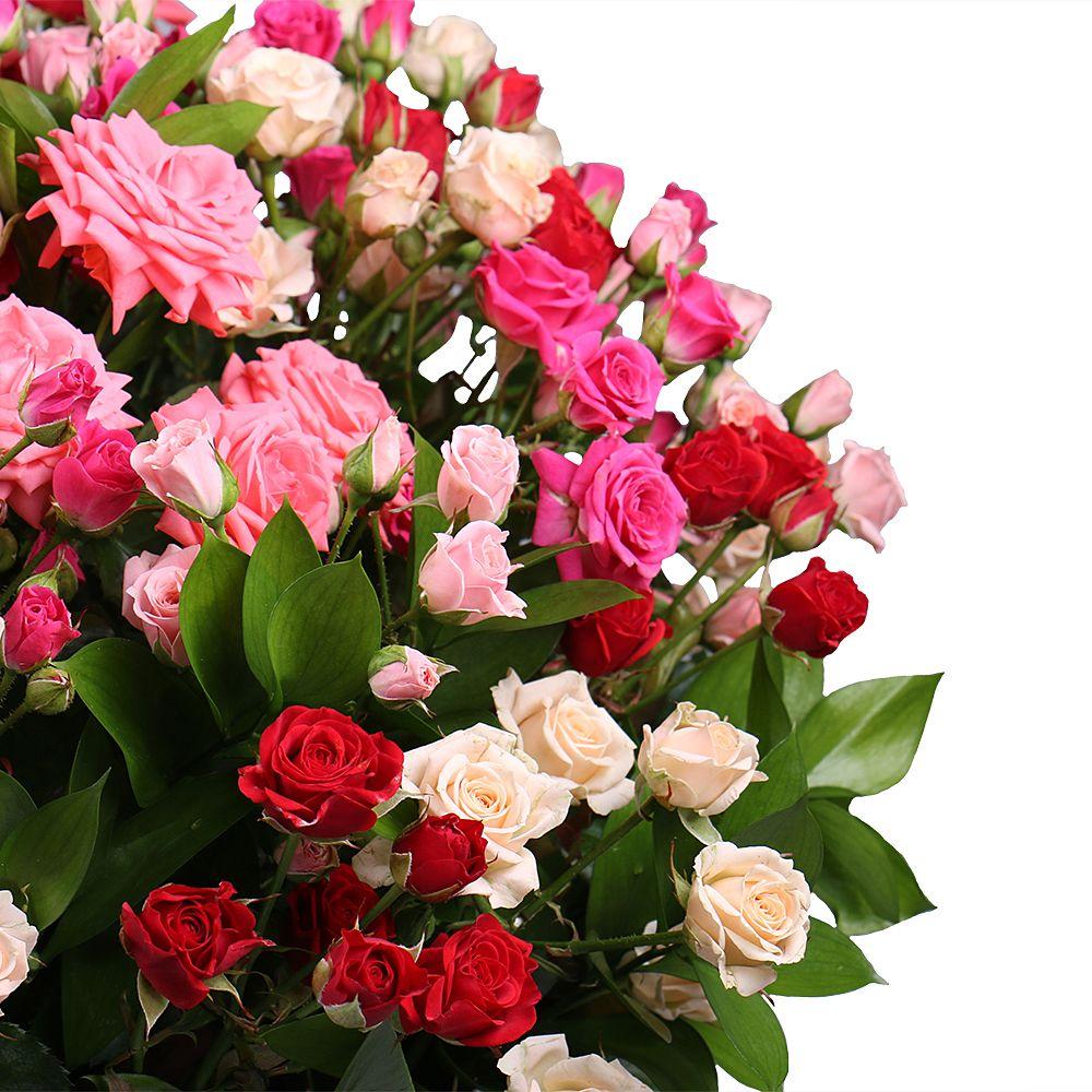 Деду, кустовые розы открытки