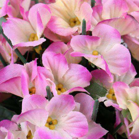 Букет Гортензия розовая искусственная