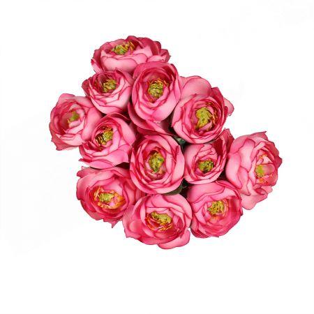 Букет Ранункулюс розовый искусственный