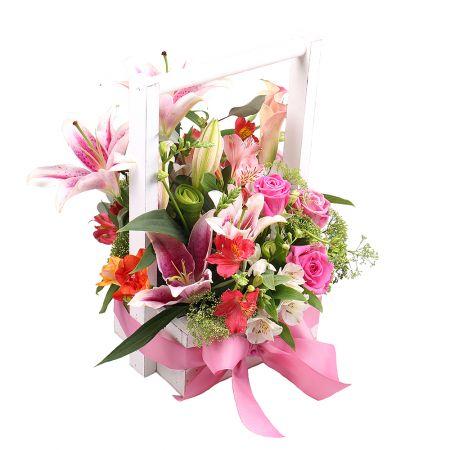 Букет Феерия розового