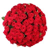 Bouquet 101 red roses Gran Prix