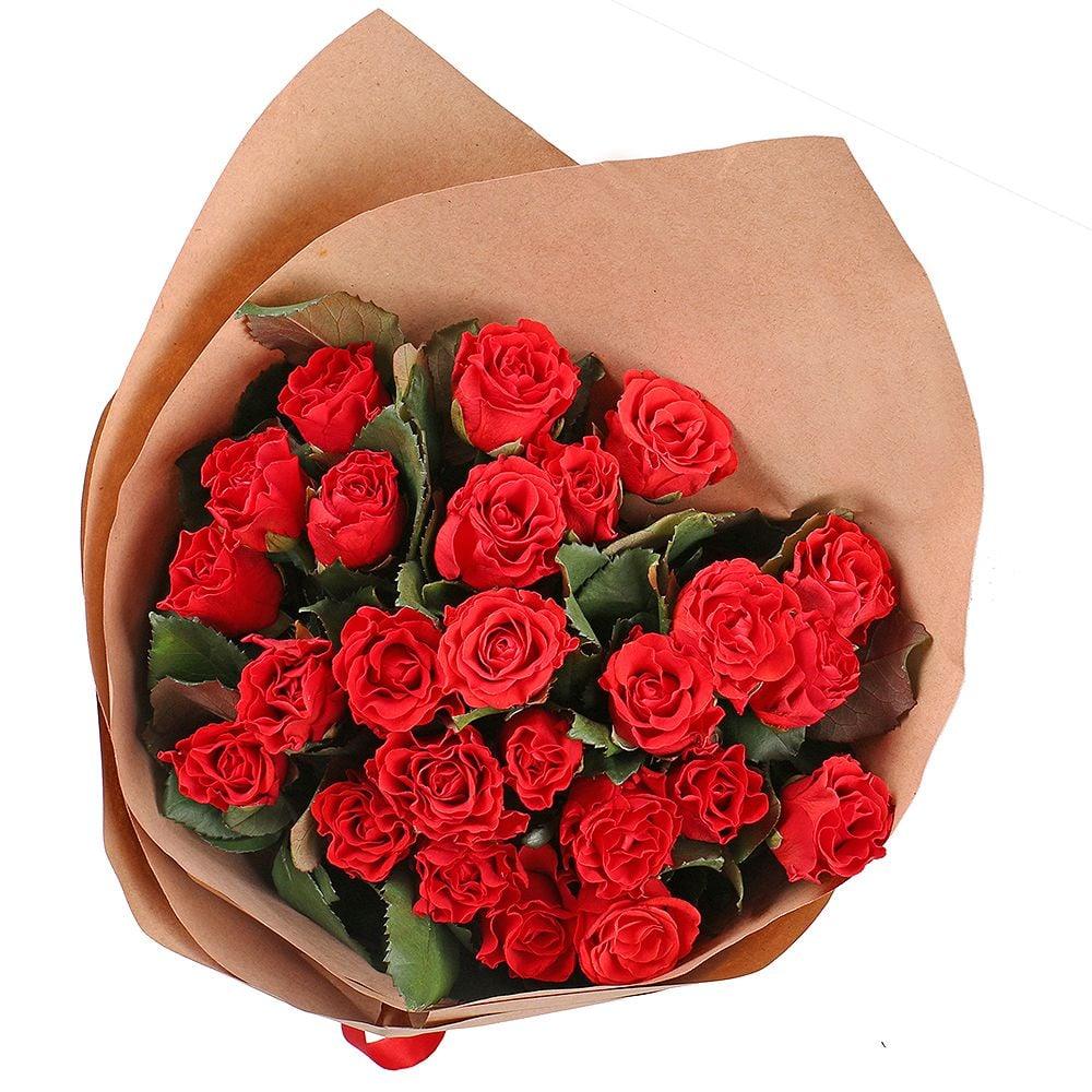 Букет 25 красных роз Эль Торо