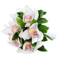 Доставка свадебных букетов из орхидей
