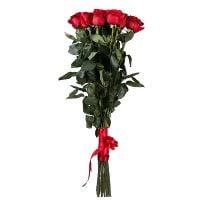 Красивый букет из 15 роз (1 метр) купить с доставкой в любой город