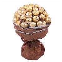 Букет из конфет Золотой