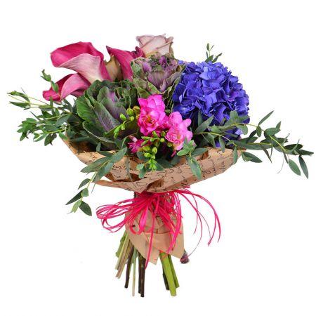 Купить цветы дизайнерские букеты шуточный подарок на юбилей мужчине 35 лет