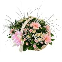 Bouquet Basket for wedding