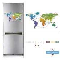 Купить магнитную «Карту мира» на холодильник с доставкой
