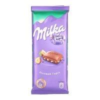Milka с лесным орехом