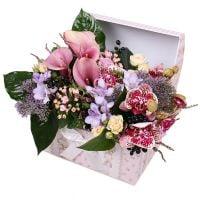 Цветочный ажур в коробке
