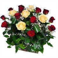 Заказать красивую корзину роз в интернет-магазине с доставкой в любую точку мира