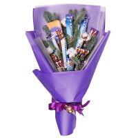 Товар New Year candy bouquet Milka