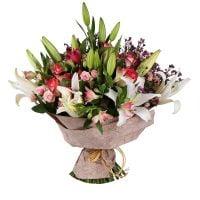 Купить букет «Нежная лилия» в интернет-магазине с доставкой