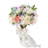 Заказать очаровательный свадебный букет «Мираж» с доставкой