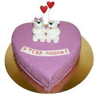Заказать вкусный торт «Я тебя люблю» с доставкой в любой город Украины и мира