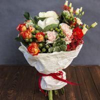 Заказать очаровательный букет «Охапка нимфы» в интернет-магазине с доставкой