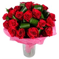 Букет Пламя страсти 23 розы Алматы