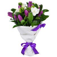 Купить весенний букет цветов «Подснежник» с доставкой