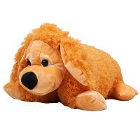 Собака подушка, рыжая собака игрушка, игрушка подушка, заказать подарок, подарить мягкую игрушку дос