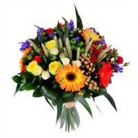 букет с полевыми цветами, букет с колосками, цветы полевые букеты