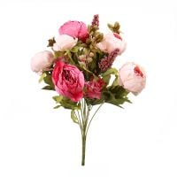 Bouquet Artificial ranunculus bicolour