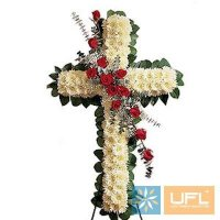 Букет Ритуальна композиція з живих квітів №26 Київ