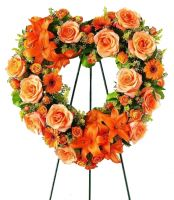 Букет Ритуальная композиция из живых цветов   № 3