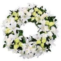 Букет Ритуальна композиція з живих квітів № 6 Київ