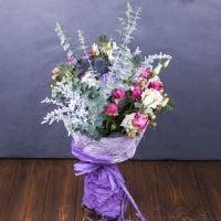 Заказать очаровательный букет «Симфония Эдема» в интернет-магазине с доставкой