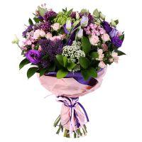 Купить букет из роз «Сиреневый рай» с доставкой в любой город